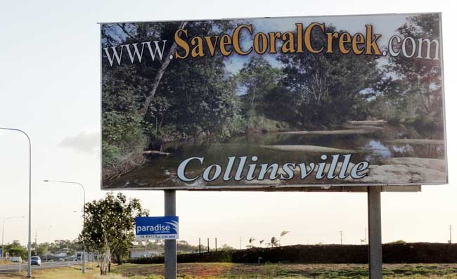 Save Coral Creek Banner Ad